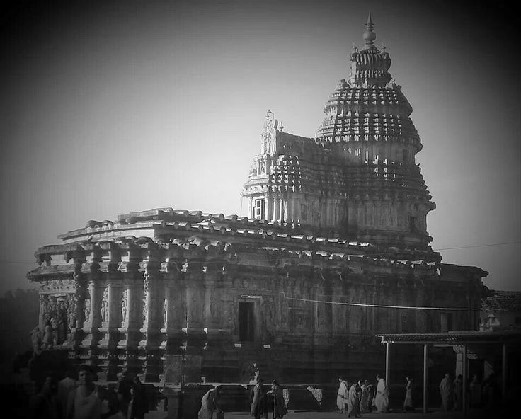 Sri. Vidyashankara temple in Sringeri, India. Built in the 1300's.