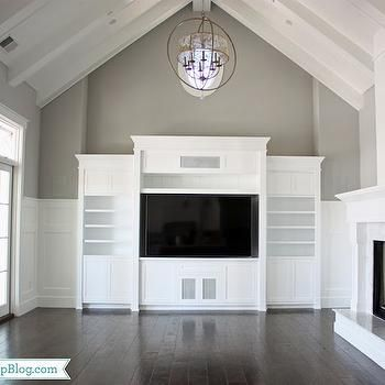 Built In Entertainment Center, Transitional, living room, Frazee Paint Seattle, Sunny Side Up