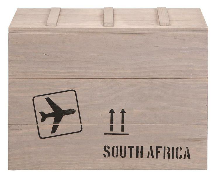 Opbergkist Dex: stoere houten kist voor het opbergen van bijvoorbeeld speelgoed #tips #handig