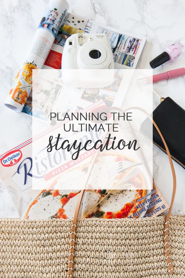 Planning the Ultimate Staycation | Hometown Staycation Ideas from @cydconverse and @ristoranteusa