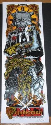 Grinderman Poster Grinderman Nick Cave Melbourne Concert Tour Poster Rhys Cooper | eBay