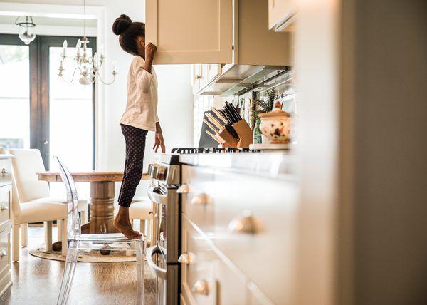 Satin Vs Semi Gloss Kitchen Cabinets Gloss Kitchen Cabinets Gloss Kitchen Painting Kitchen Cabinets