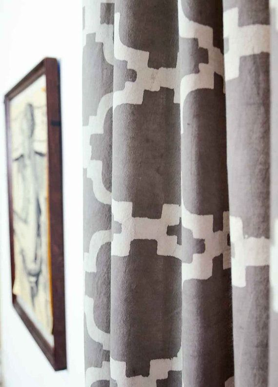 grey curtains for bedroom. Gray Geometric window curtains grey bedroom by Ichcha Best 25  Grey ideas on Pinterest Bedroom