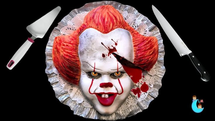 IT Pennywise Cake Torta De Pennywise Halloween Ideas Luna