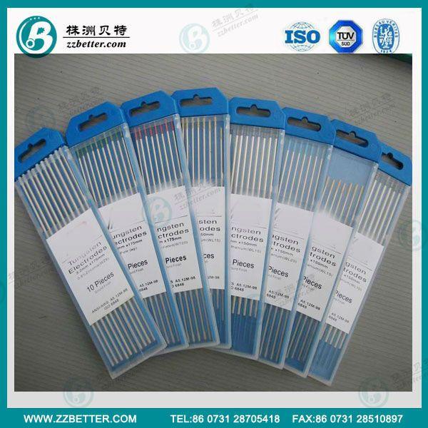 tungsten electrodes tig welding rods tungsten rods $2.5~$3.8