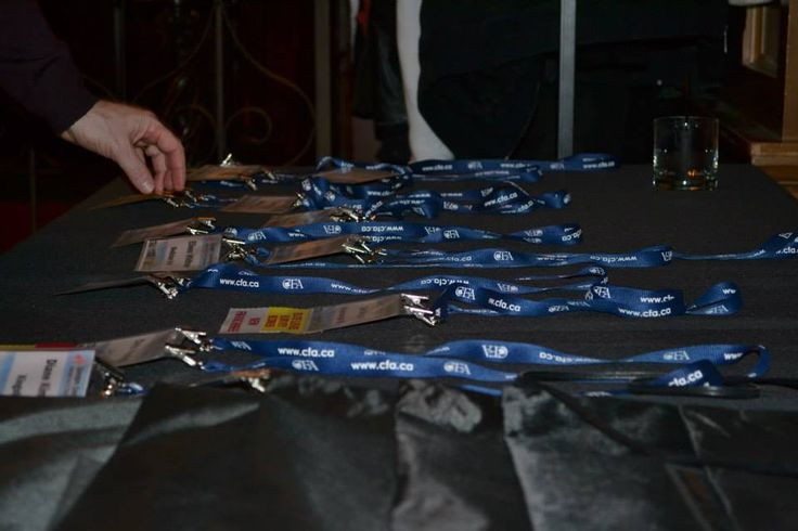 Name tags, name tags....so many name tags at the Speedpro 2014 convention!