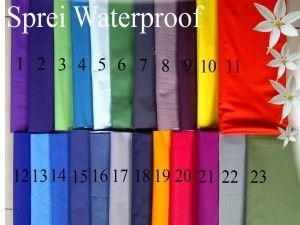 Sprei waterproof Uk. 140 x 200