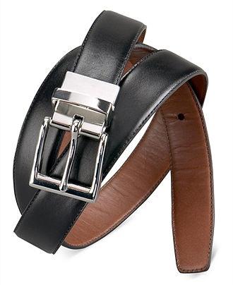 Polo Ralph Lauren Belt, Belt Reversible Leather Belt - Men's Belts & Suspenders - Men - Macy's