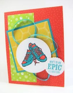 Maddiebug Designs - Bright and Epic - Stampin' Up!, Epic Celebrations (SAB 2018), Bubbles and Fizz dsp (SAB 2018)