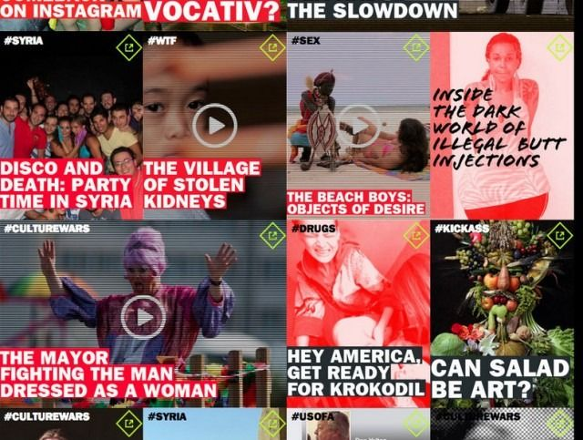 Vocativ Is Much Like VICE, Having a Lot More Data