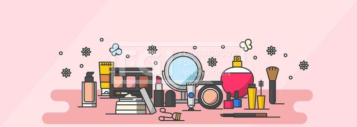ILL187, 프리진, 일러스트, 쇼핑, 이벤트, 세일, 선물, 쿠폰, 쇼핑몰, 백화점, 사은품, 포인트, 할인, 이벤트데이, 5월, 가정의달, 오브젝트, 아이콘, 배경, 풍경, 화장품, 치장, 화장, 뷰티, 꽃, 식물, 나비, 곤충, 컨실러, 선크림, 팔레트, 붓, 크림, 립스틱, 뷰러, 매니큐어, 아이라이너, 파운데이션, 거울, 손거울, 향수, 핸드크림, 마스카라, 여자, 여성, 향, 냄새, 체취,#유토이미지