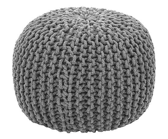 """Puf """"Knit Bowl VII"""", wys. 30, Ø 45 cm"""