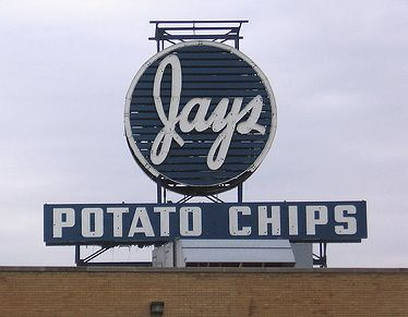 Jays Potato Chips--bought out by Snyders of Hanover