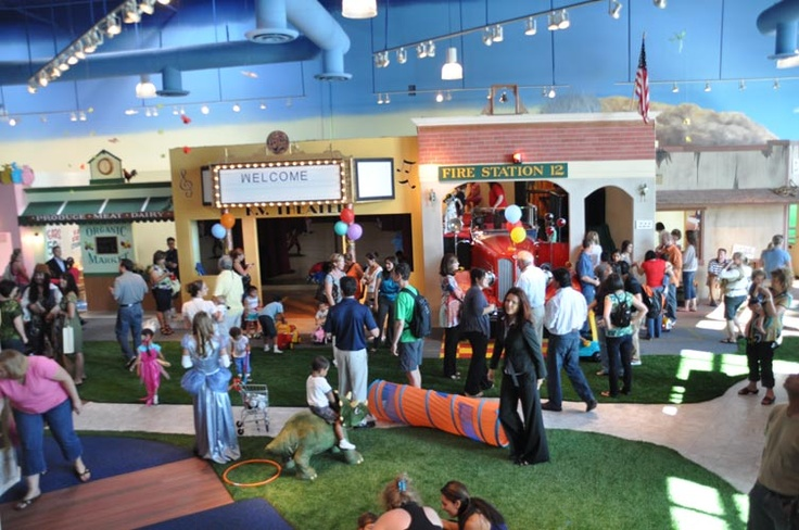 Kid Ventures Indoor Play Village and Parent Cafe