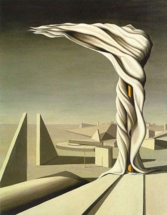 'The Wife of Yves Tanguy'  One of my personal favorite artists.  Check out his contribution @ MIA