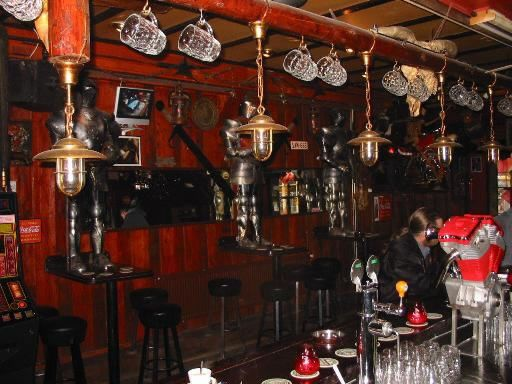 Excalibur...  A Hells Angel bar in The Red Light District in Amsterdam....very cool!