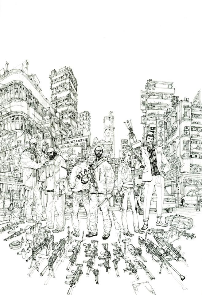 Kim Jung Gi | «Agents Provocateurs» : The Cover !!!