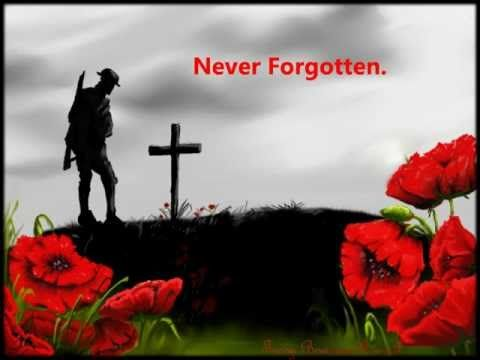 YouTube. Remembrance Day. The Last Post (1min)