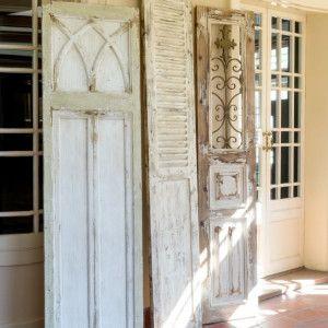 Door Panel Flea Market Find Wall Decor