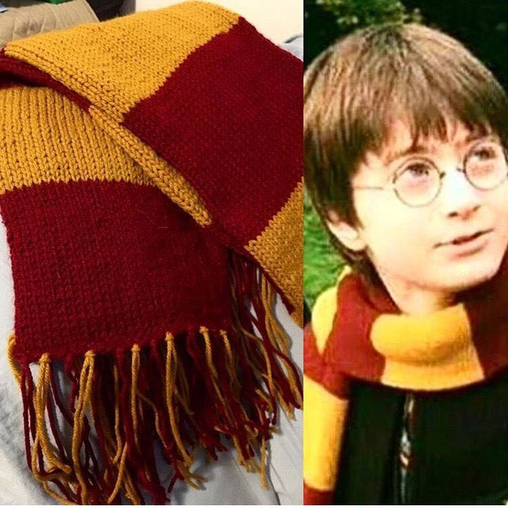 Organic Handknit Harry Potter Gryffindor  Scarf!!! by MamaMaqCreations on Etsy https://www.etsy.com/listing/511495624/organic-handknit-harry-potter-gryffindor