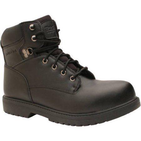 Tredsafe Men's Nic Safety Toe Slip-Resistant Work Boot, Size: 8.50, Black