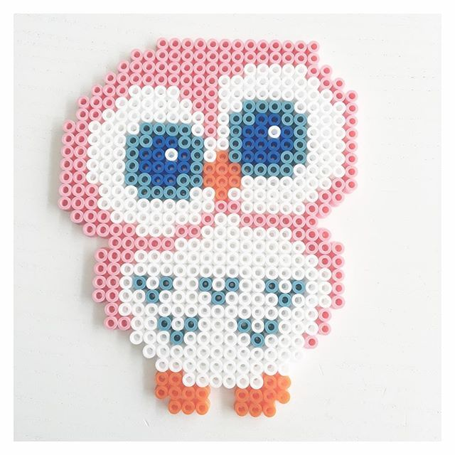 Owl hama beads by perler_beads_in_my_heart