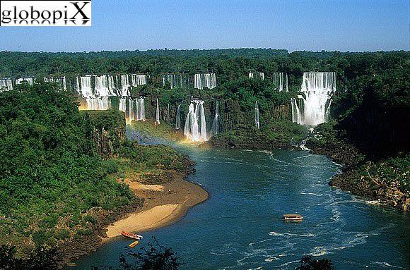 Iguaçu Falls, Brasil-Paraguay-Argentina