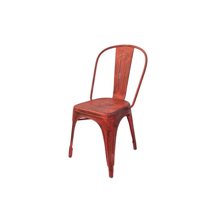 Silla Tolix Roja