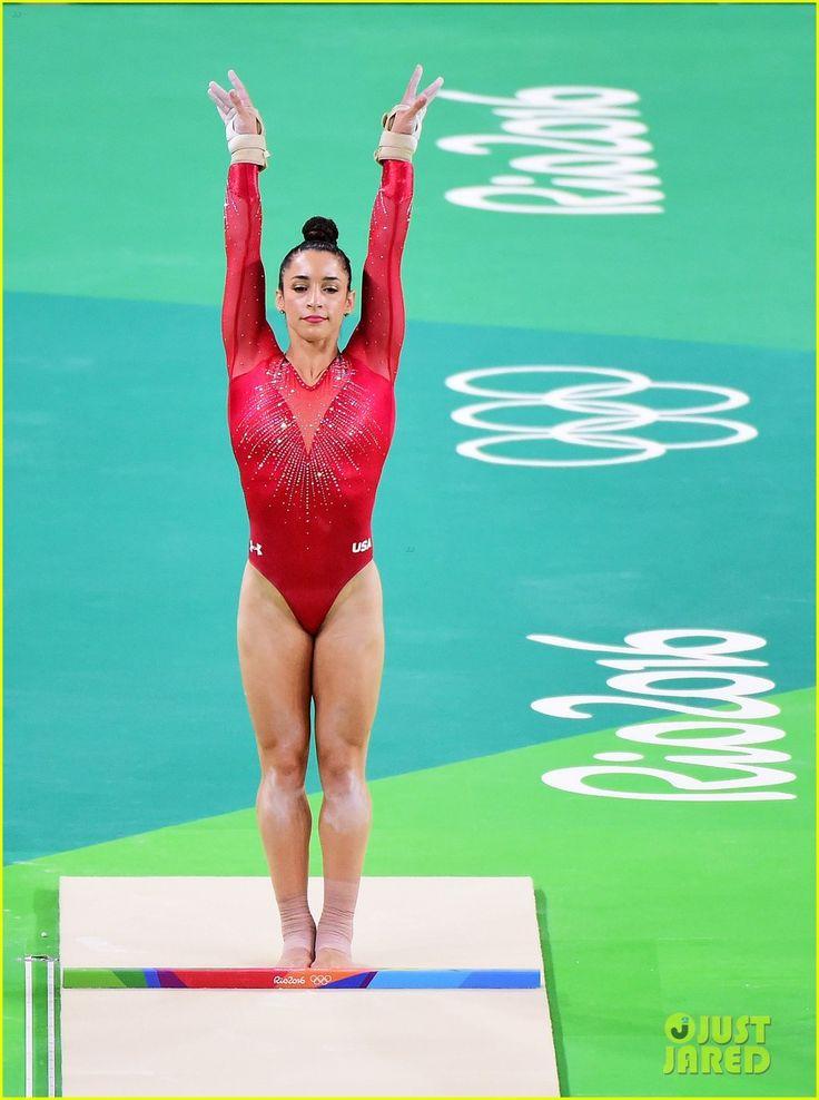 Simone Biles Wins Gold, Aly Raisman Takes Silver in Olympics' All-Around Final!: Photo 3731682 | 2016 Rio Summer Olympics, Aly Raisman, Simone Biles ...