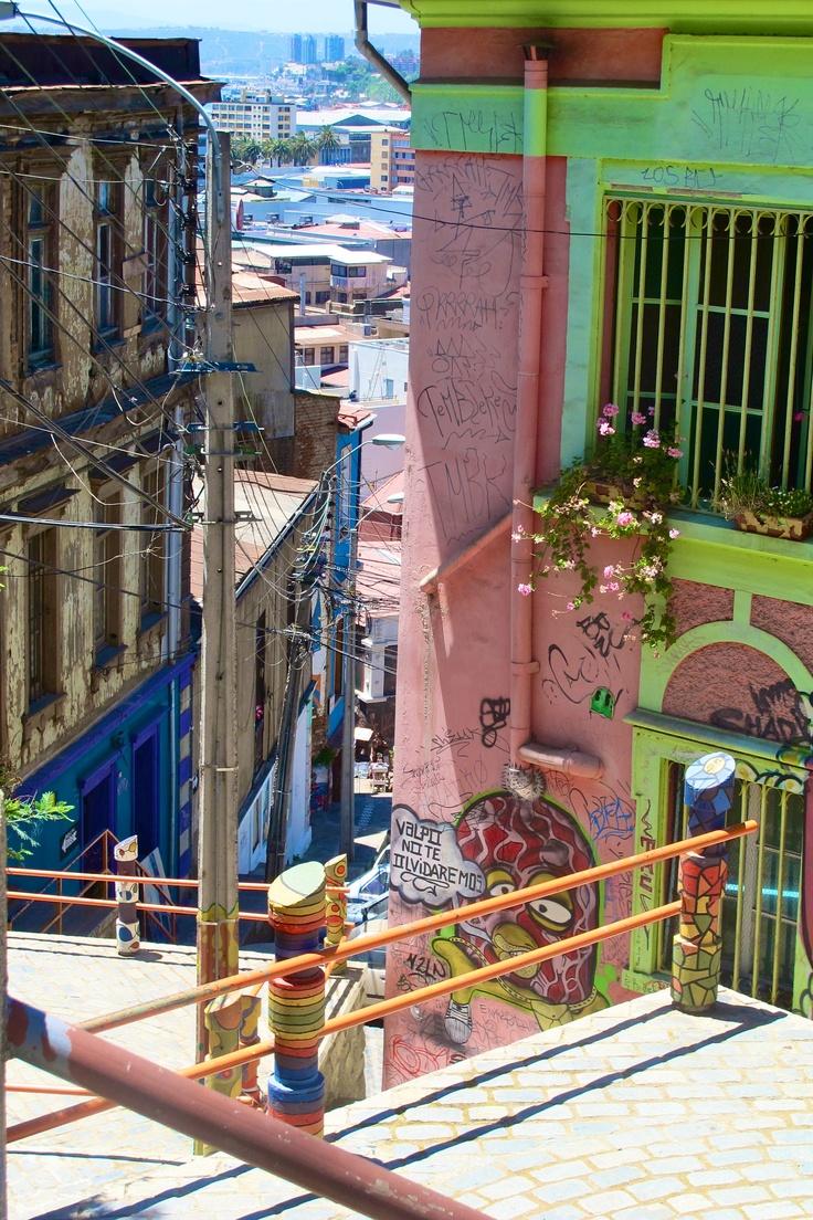 Valparaiso,Chile las hermosas ciudades