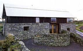 I was lucky enough to house-sit this stunning contemporary Irish rural house about 12 years ago. Designed by Richard Murphy Architects, it is a totally modern interpretation of an old Irish farmhouse.