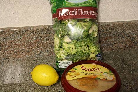 Two-Ingredient Creamy Garlic Broccoli - Can Cook, Will Travel