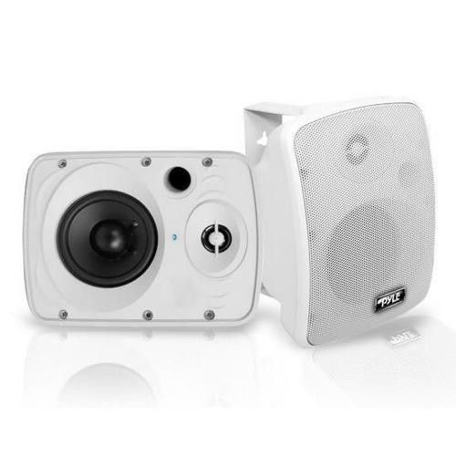 Waterproof & Bluetooth 5.25'' Indoor / Outdoor Speaker System, 600 Watt, White