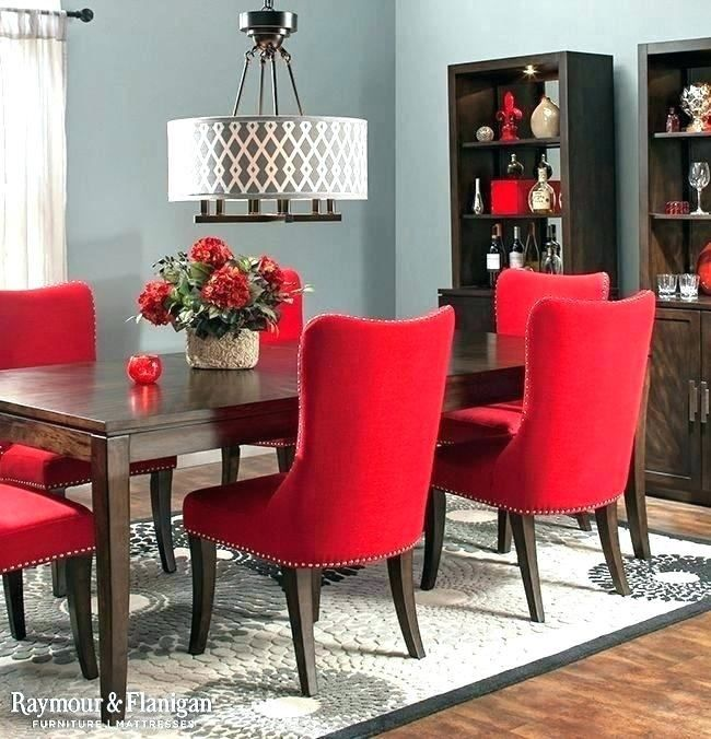Red Dining Room Table Dining Room Design Red Dining Chairs