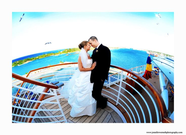 Orlando Wedding Photographers: Disney Cruise wedding