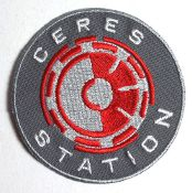 "Expanse TV Series Ceres Station Logo 3"" Wide Round Patch"