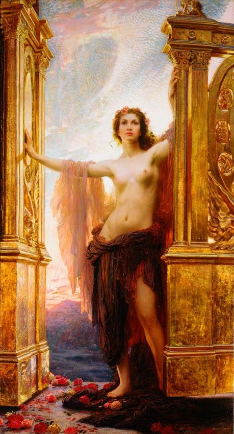 Gates of Dawn - Herbert Draper    Beauty doesn't always translate across the centuries; here, I think it does