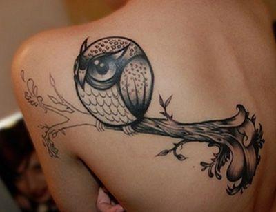 Owl tattoo....