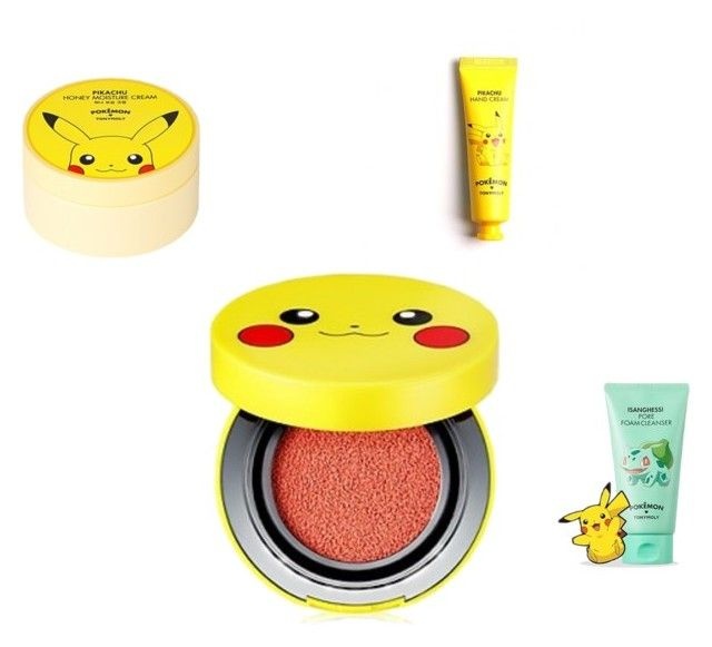"""""""Pokemon set 01"""" by darko69 ❤ liked on Polyvore featuring beauty and TONYMOLY"""