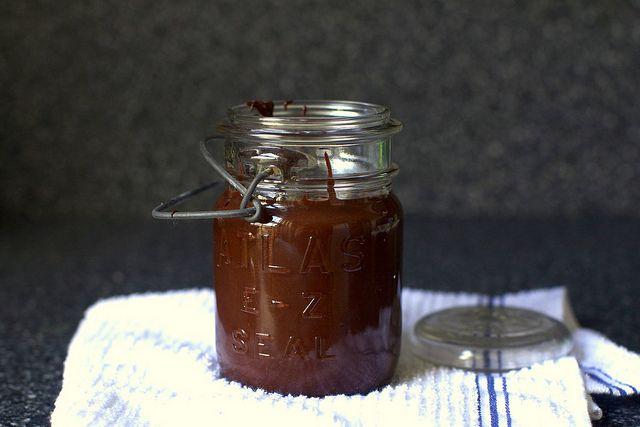 peanutella (chocolate-peanut spread) | smittenkitchen.com