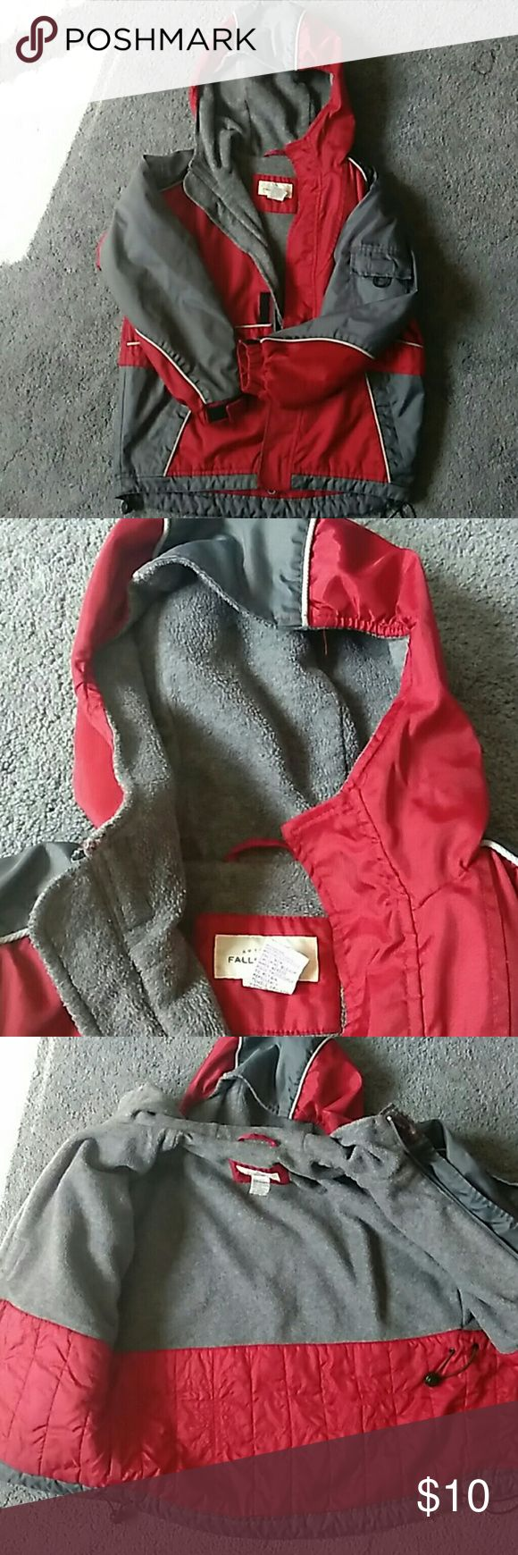 Boys Winter Coat Nice. Warm. Winter coat for a child. Clean. No holes. Still has lots of life left in it. Scarlet and Gray for your little Buckeye fan! Falls Creek Jackets & Coats