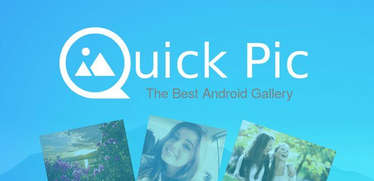 Viernes 26 de Febrero 2016.Por:Yomar Gonzalez| AndroidfastApk  QuickPic Gallery v4.6.9.1438 Requisitos: 2.3 o versiones posteriores Descripción general: rápido ligero moderno QuickPic es la mejor aplicación álbum alternativo para todas sus fotos queridas que pueden sustituir a la aplicación stock Galería. Podría decirse que la mejor aplicación para Android galería. De android y juegos (2013) -UltraLinx QuickPic es una de nuestras mejores opciones en esta área. Policía -Android QuickPic es…