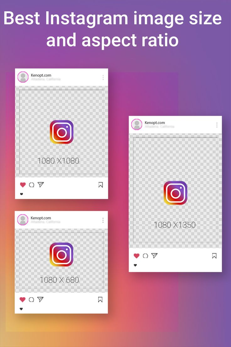 Best instagram image size and aspect ratio in 2020