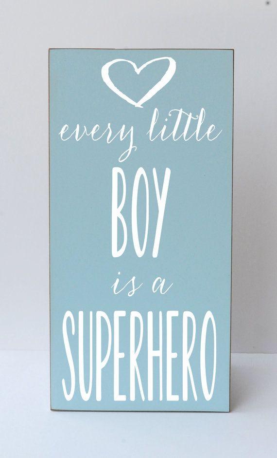 Superhero. For little boys room