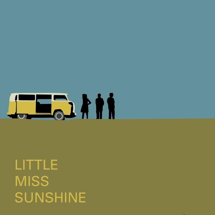 Little Miss Sunshine  movie poster.  via Etsy.