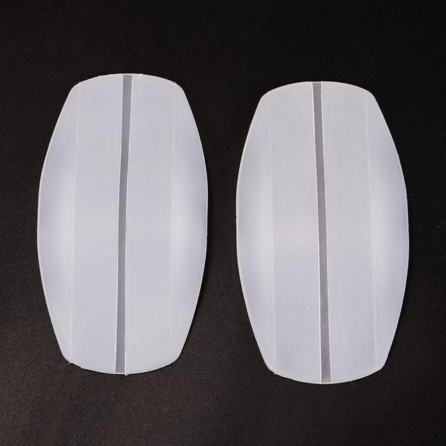 1 Pair Silicone Shoulder Pad Soft Bra Strap Holder Cushions Non Slip Shoulder Strap Pads Holder Bra Relief Pain for Woman