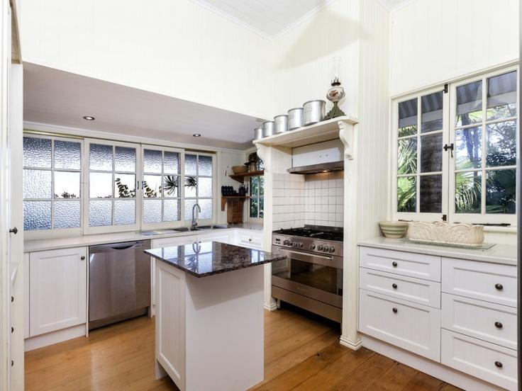 cool kitchen reno for a queenslander