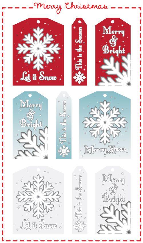 Oltre 25 fantastiche idee su Etiquetas natal imprimir su Pinterest - christmas tag template