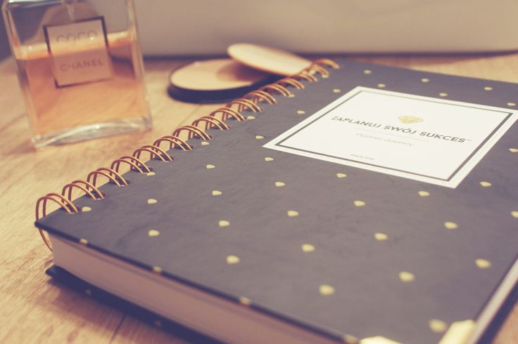 Planner dzienny | Zaplanuj Swój Sukces | Planner Gold Diamonds Bold