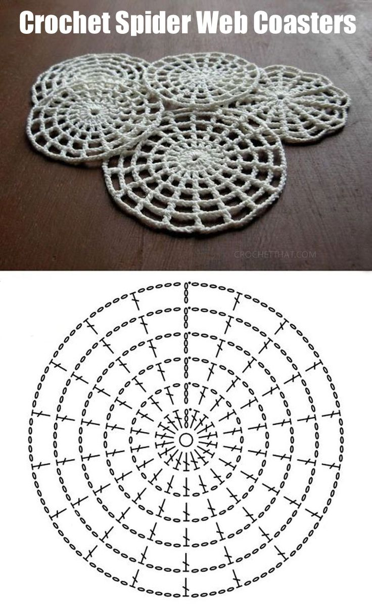 How to Crochet a Halloween Spider Web